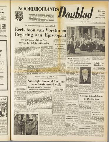 Noordhollands Dagblad : dagblad voor Alkmaar en omgeving 1953-05-01
