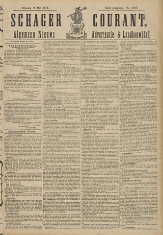 Schager Courant 1911-05-16