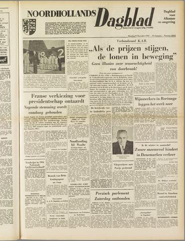 Noordhollands Dagblad : dagblad voor Alkmaar en omgeving 1953-12-21