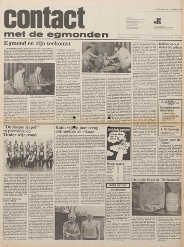 Contact met de Egmonden 1980-11-12