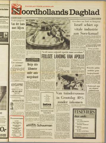 Noordhollands Dagblad : dagblad voor Alkmaar en omgeving 1969-03-14