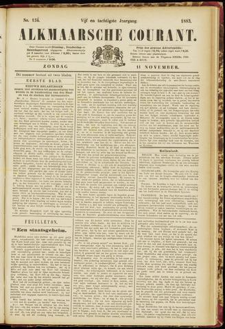 Alkmaarsche Courant 1883-11-11