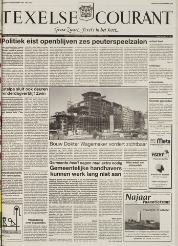 Texelsche Courant 2004-09-24