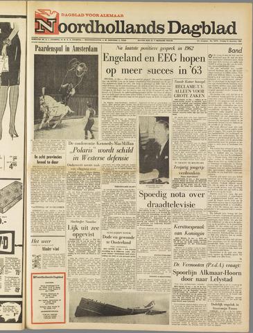 Noordhollands Dagblad : dagblad voor Alkmaar en omgeving 1962-12-21
