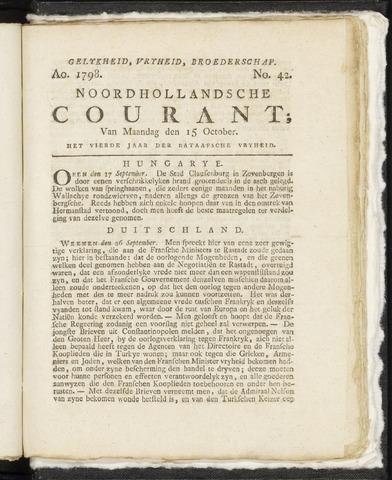 Noordhollandsche Courant 1798-10-15