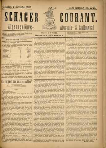 Schager Courant 1888-11-08
