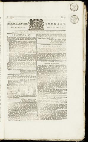 Alkmaarsche Courant 1835-02-16