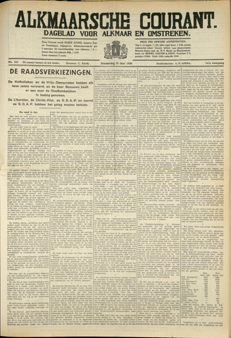 Alkmaarsche Courant 1939-06-22