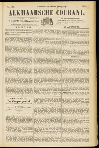 Alkmaarsche Courant 1902-08-29