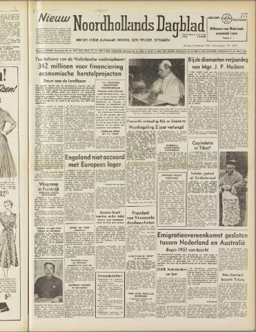 Nieuw Noordhollandsch Dagblad : voor Alkmaar en omgeving 1950-11-14