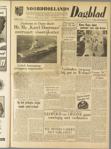 Noordhollands Dagblad : dagblad voor Alkmaar en omgeving 1959-09-25