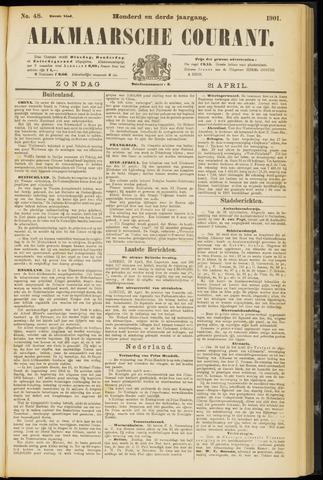 Alkmaarsche Courant 1901-04-21