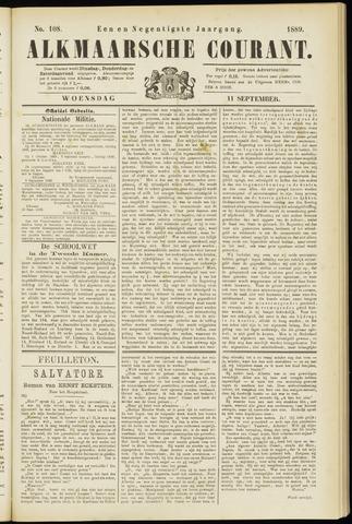 Alkmaarsche Courant 1889-09-11