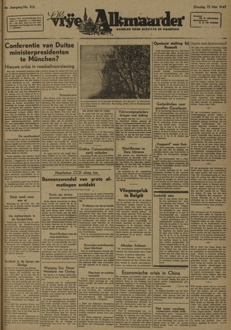 De Vrije Alkmaarder 1947-05-13