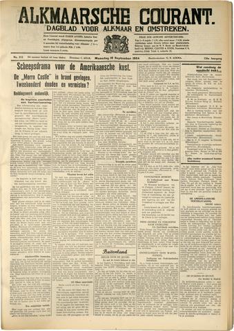 Alkmaarsche Courant 1934-09-10