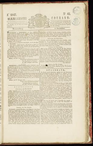 Alkmaarsche Courant 1847-11-08
