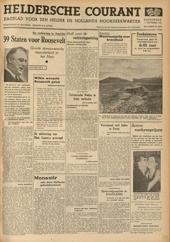 Heldersche Courant 1940-11-07