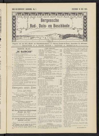 Bergensche bad-, duin- en boschbode 1932-07-16