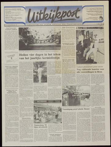 Uitkijkpost : nieuwsblad voor Heiloo e.o. 1992-07-01