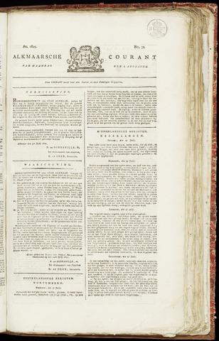 Alkmaarsche Courant 1821-08-06