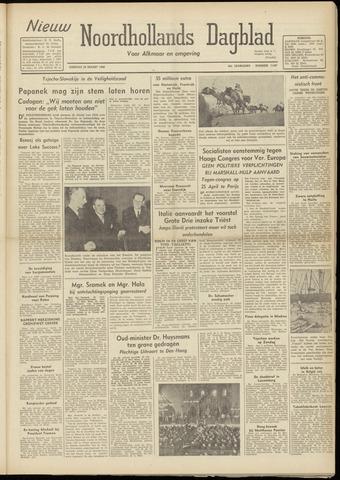 Nieuw Noordhollandsch Dagblad : voor Alkmaar en omgeving 1948-03-23