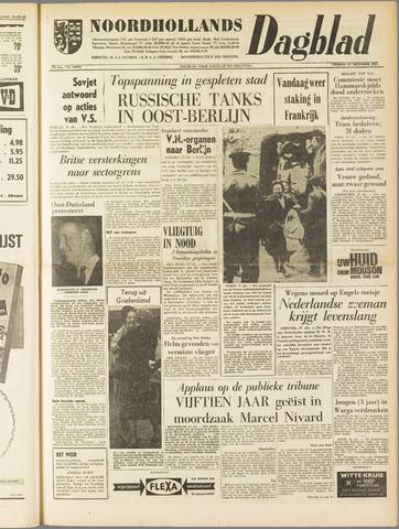 Noordhollands Dagblad : dagblad voor Alkmaar en omgeving 1961-10-27
