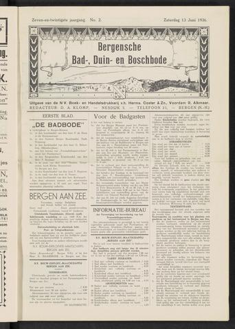 Bergensche bad-, duin- en boschbode 1936-06-13