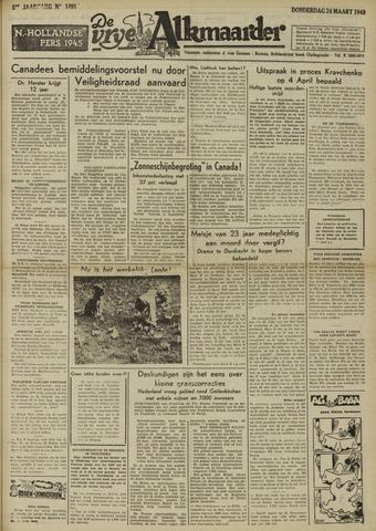 De Vrije Alkmaarder 1949-03-24