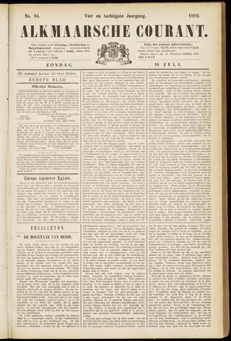 Alkmaarsche Courant 1882-07-16