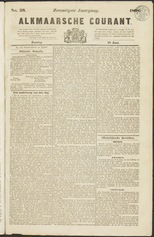 Alkmaarsche Courant 1868-06-28
