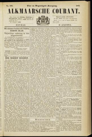 Alkmaarsche Courant 1892-08-21