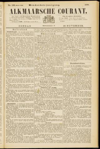 Alkmaarsche Courant 1898-11-20