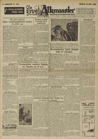 De Vrije Alkmaarder 1948-11-26