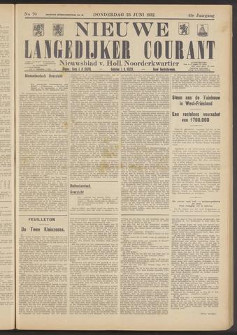 Nieuwe Langedijker Courant 1932-06-23