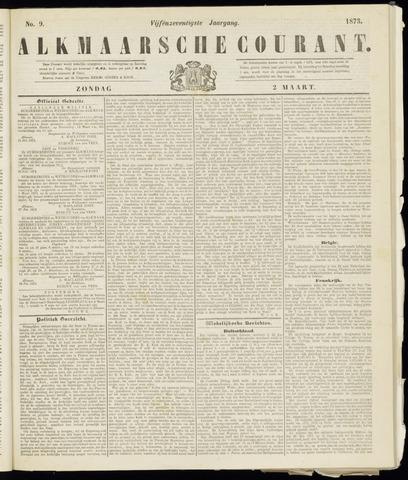 Alkmaarsche Courant 1873-03-02