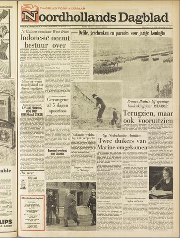 Noordhollands Dagblad : dagblad voor Alkmaar en omgeving 1963-05-01
