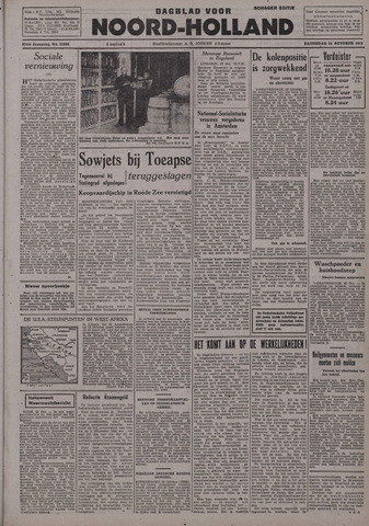 Dagblad Noord-Holland, Schager editie 1942-10-24
