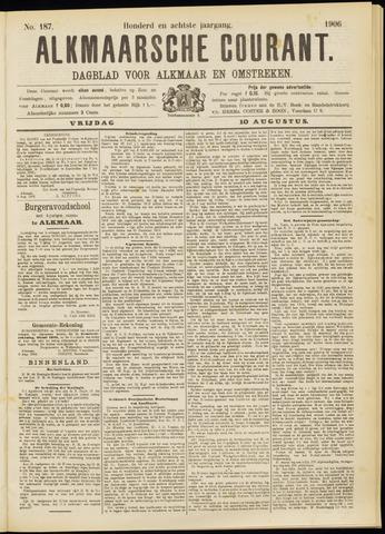 Alkmaarsche Courant 1906-08-10