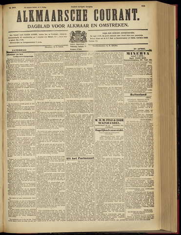 Alkmaarsche Courant 1928-04-28