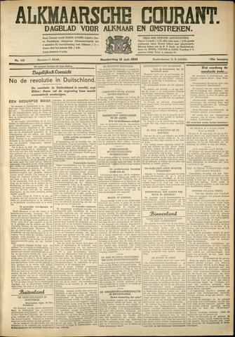 Alkmaarsche Courant 1933-07-13