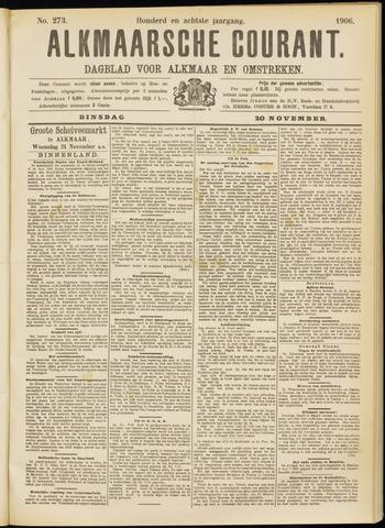Alkmaarsche Courant 1906-11-20