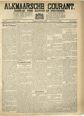 Alkmaarsche Courant 1933-02-24
