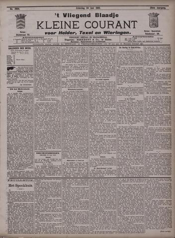 Vliegend blaadje : nieuws- en advertentiebode voor Den Helder 1900-06-23