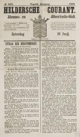 Heldersche Courant 1869-06-26