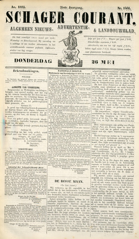 Schager Courant 1881-05-26