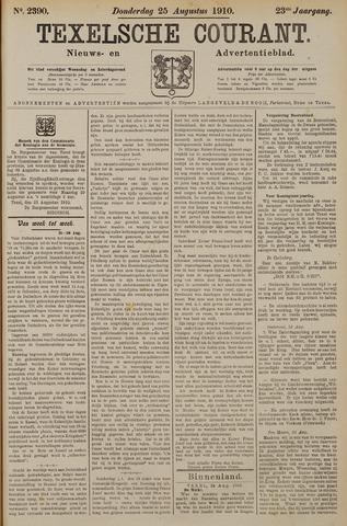 Texelsche Courant 1910-08-25