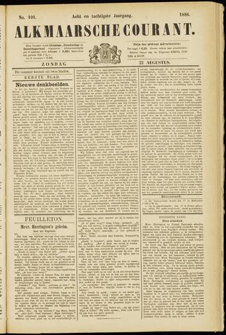 Alkmaarsche Courant 1886-08-22
