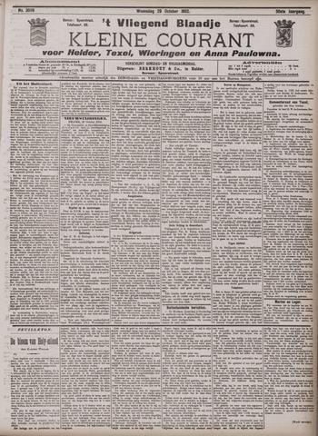 Vliegend blaadje : nieuws- en advertentiebode voor Den Helder 1902-10-29