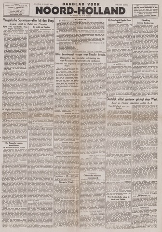 Dagblad Noord-Holland, Schager editie 1944-03-20