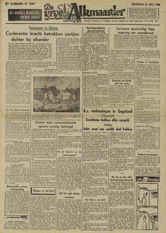 De Vrije Alkmaarder 1949-07-25